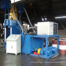 Вертикальное оборудование для производства брикетов из алюминиевой стружки высокого давления