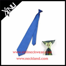 Wholesale Polyester Cheap Neck Clip Tie