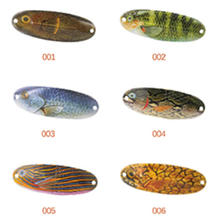 Popular Design 70mm 11g Fishing Spoon Lures