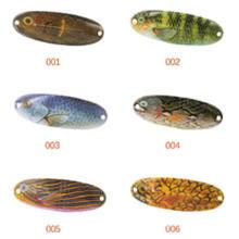 Популярный дизайн 70мм 11g рыболовные ложка приманки