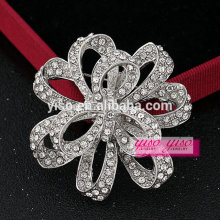 fashion jewelry brooch for bridal dress