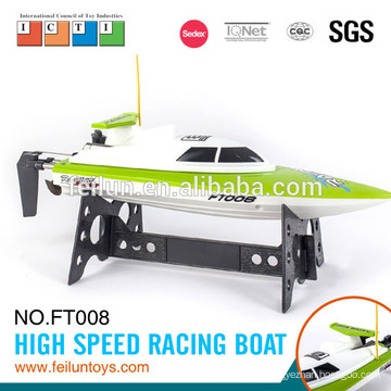 Factory direct price small scale ABS material 2.4G 4CH high speed remote control boat for sale with CE/FCC/ASTM certificate