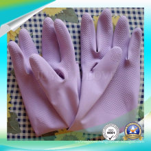 Protective Latex Working Gloves for Washing Stuff with ISO9001 Approved