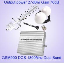 24 dBm GSM 900 Dcs1800MHz amplificateurs de signal de téléphone cellulaire à double bande