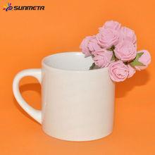 6oz de sublimación blanca de cerámica taza