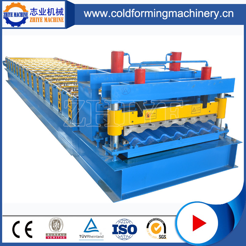 The Production Line Of Glazed Tile Machine