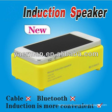 Induction Potable Mini Speaker for iPhone,portable magnetic speakers