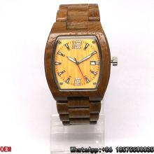 Top-Quality Teak-Wooden Watch Quartz Watch Hl16