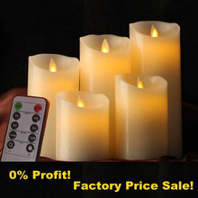 Dancing Moving Flame Led Candles