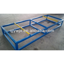QJ FInished Roof Sheets Roller Sliding Discharge Table