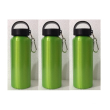 1000ml Aluminum Bottle With Portable Climbing Button, Good Quality Sport Water Bottle Factory
