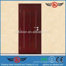 JK-HW9101 Porta de quarto de madeira de pintura vermelha