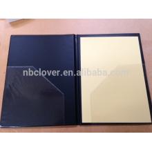 A4 carpeta de archivo transparente soporte de documentos de plástico / A4 bolsa de documentos de plástico / caso de documento