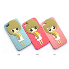 Silikon-Kasten für iPhone5g Mädchen-Kasten für iPhone5g