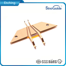 Metal Etching Suppliers Custom Metal Etching Small Polyimide Laminated Part