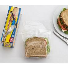 Пластиковый полиэтиленовый пакет для доставки еды