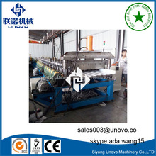 Roof panel sheet cold roll forming machine