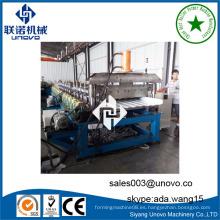 Máquina del unovo hoja del panel de la azotea rollo en frío que forma la máquina