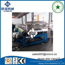 unovo machinery roof panel sheet cold roll forming machine