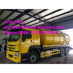 Sinotruk howo7 Vacuum Suction Sewer Pump Truck