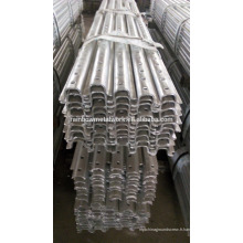 Perforated Steel U Channel Posts