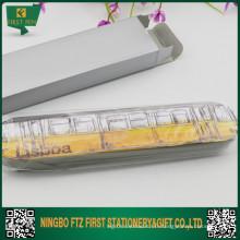 Logo Imprimer Boîte cadeau en étain pour stylo