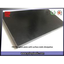 Schwarz Fr4 mit 0,3 mm ESD auf einer Seite