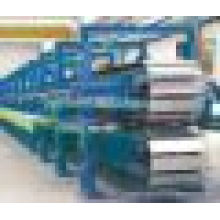 Ligne de production de panneaux de sandwich en PU