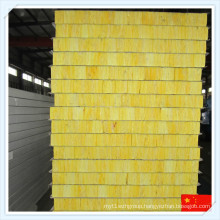 High Quality Fireproof Glass Wool Sandwich Panel for Wall