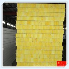 Painel de sanduíche de lãs de vidro à prova de fogo de alta qualidade para parede