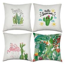 Foto de decoração de sofá em casa almofadas impressas OEM