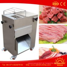 Hähnchenbrust-Fleisch-Schneidemaschine-Fleisch-Streifen-Schneidemaschine