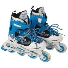 Carton Design Blue Inline Skate