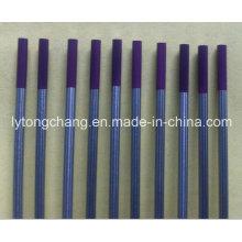 Púrpura 10PCS embalaje Wt30 Thoriated del tungsteno electrodos Dia1/8′′ tierra