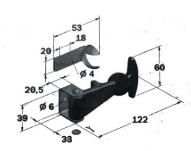 Cabinet Toggle Latch Lock Rubber