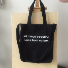कस्टम कला छात्र खरीदारी बैग एक कंधे कैनवास बैग
