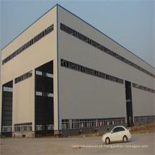 Construção de construção pré-fabricada Estrutura de aço Edifício de armazém