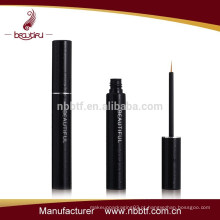 AX16-22 5ml de alumínio preto esvaziar luxo Eyeliner tubo pacote