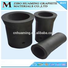 China crisol / bote / estaño del carbono del crisol del grafito para derretir el aluminio
