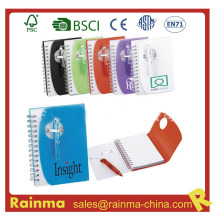 PVC Cover Notebook for School and Office Promotion