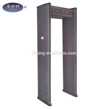 Seguridad de inducción de impulsos a través del detector de metales