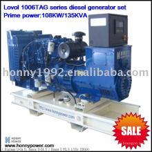 Groupe électrogène diesel de puissance britannique 120KW (150KVA)