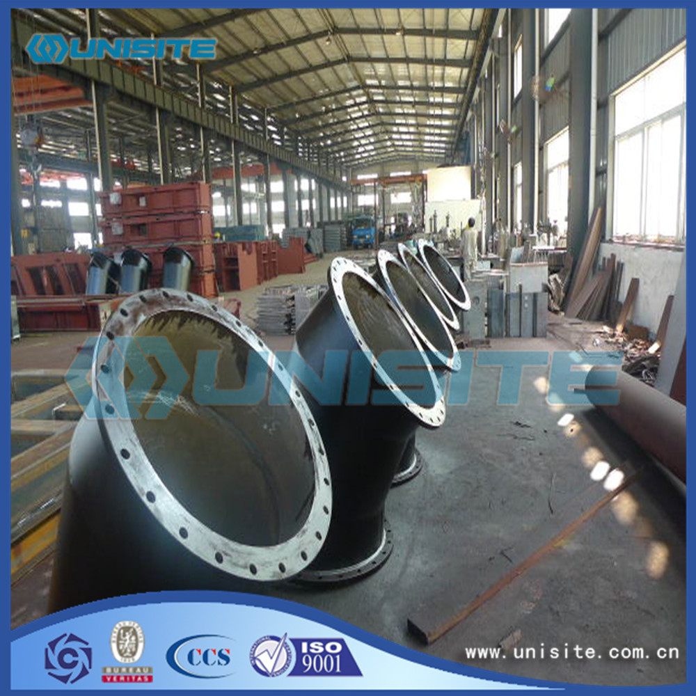 Welding Hot Pipes Bend