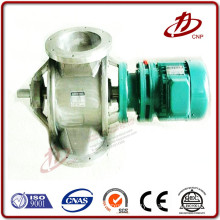 For bulk material valve rotary in the bottom of dust collector