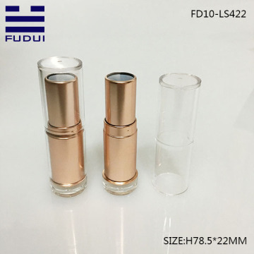 Custom hot sale round private label lipstick tube