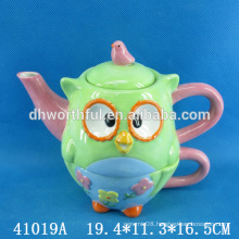 Hand painting ceramic teapot and cup set