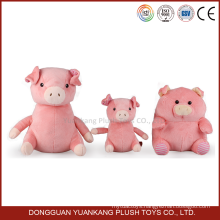 Custom 10 inches promotional soft toy plush pig