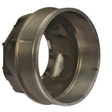 Fundição de alumínio com fundição em alumínio com usinagem