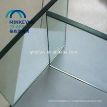 Table de salle à manger en verre trempé de 10mm
