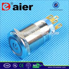 painel do interruptor de tecla; botão de pressão muda de uk; interruptor de luz de controle de rádio